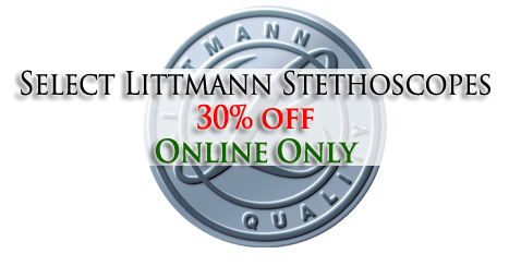Littmann Sale 30% off Online Only